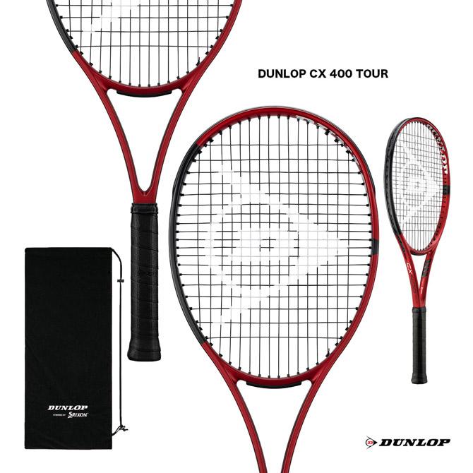ガット 休日 セットアップ 張り代 送料無料 2021年発売モデル ダンロップ DUNLOP テニスラケット CX 400 TOUR DS22105 ツアー
