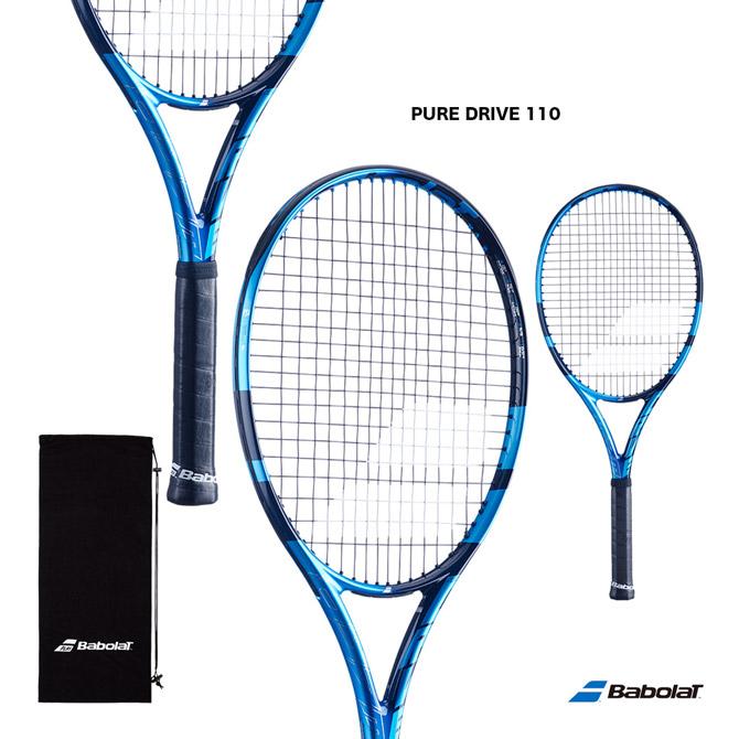 【応援クーポン10%OFF対象商品:9月20日まで】【予約】バボラ BabolaT テニスラケット ピュア ドライブ 110 PURE DRIVE 110 101450J