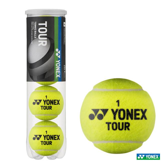 あす楽 ヨネックス YONEX 予約販売 テニスボール TOUR TB-TUR4 ツアー 1缶 新作からSALEアイテム等お得な商品 満載 4球入
