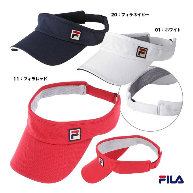 フィラ FILA 倉庫 バイザー ユニセックス ユニバイザー 気質アップ VM9697