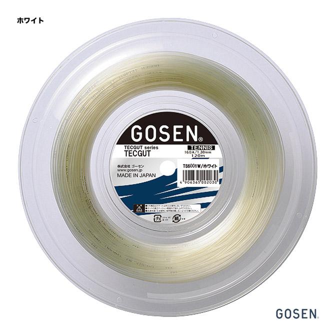 ゴーセン(GOSEN) テニスガット ロール テックガット(TECGUT) 16 ホワイト TS6001