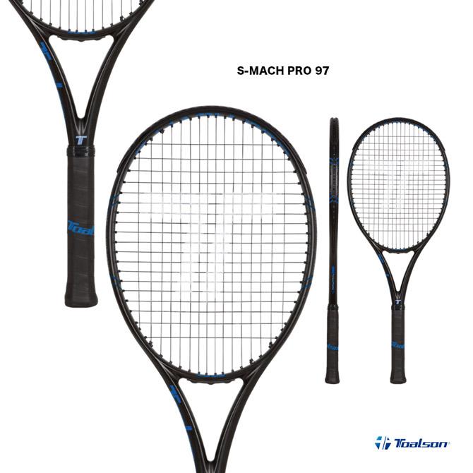 【応援クーポン10%OFF対象商品:9月20日まで】トアルソン TOALSON テニスラケット S-MACH PRO 97 1DR815