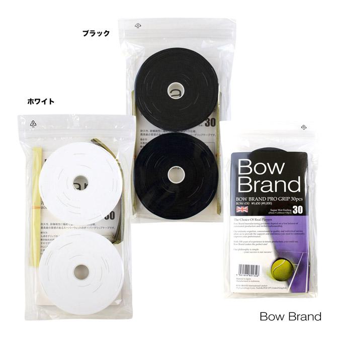 ボウブランド BOWBRAND グリップテープ ボウブランド プログリップ(スーパーウェット 30本巻) BOW030