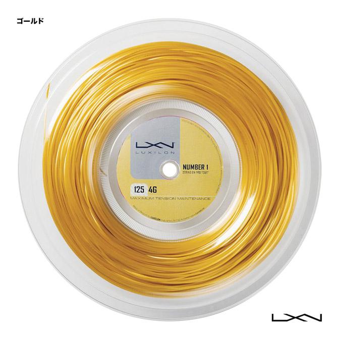 ルキシロン(LUXILON) テニスガット ロール 4G 125 ゴールド WRZ990141