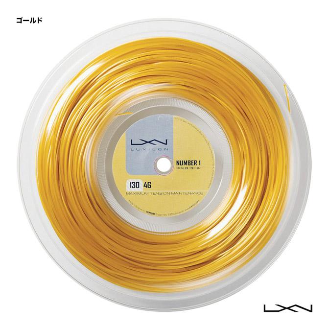 ルキシロン(LUXILON) テニスガット ロール 4G 130 ゴールド WRZ990142