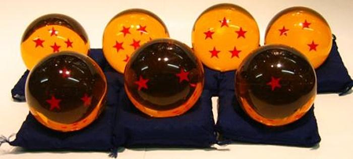 特大玉75mm 龍珠 ドラゴンボール 七個セット