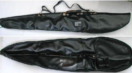 功夫刀剣&日本刀・合皮製2本用刀剣袋116cmタイプ