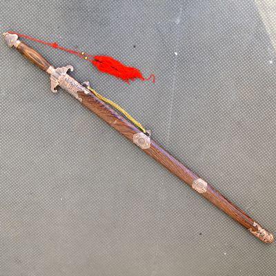 32式用太極拳カンフー演武用・ジュラルミン製刀剣「蝙蝠剣」3 しなりなし