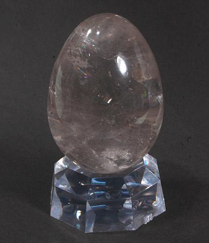 天然水晶卵型 157g