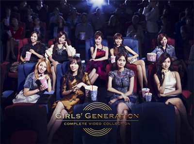 GIRLS GENERATION COMPLETE VIDEO COLLECTION(3Blu-ray完全限定盤)