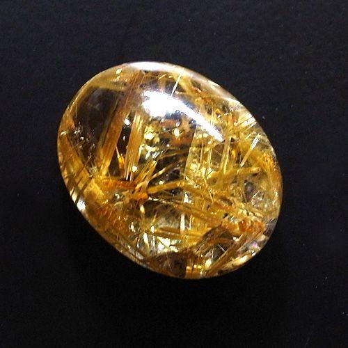 金糸水晶ルース 太陽ルチル 11.6