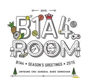 B1A4 (ビーワンエイフォー) シーズン・グリーティング 2015 カレンダー他