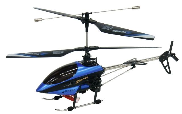 SH・RCヘリコプター 8829 4CH RCヘリコプター ブルー