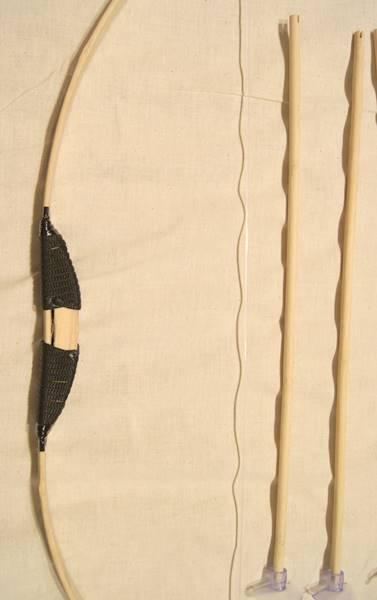 竹手工制作弓和箭将小 69 厘米类型设置