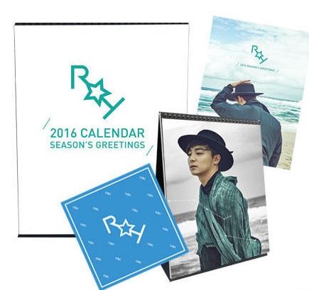 ロイ・キム 2016 Season's Greetings (Calendar + Note + Bandana)