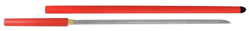 ZT-6 座頭市仕込み杖 丸朱石目鞘