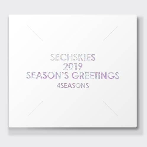 ジェクスキス SECHSKIES 2019 Season's Greetings 2019年 カレンダーセット