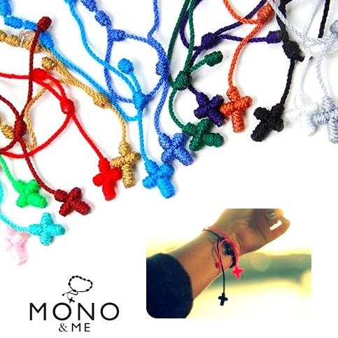 重ね付けに10個以上ご購入で宅急便送料無料 贈り物 在庫処分品 MONOME ブレスレット モノアンドミー クロスブレスレット 即納 メール可 直送商品 モノミー