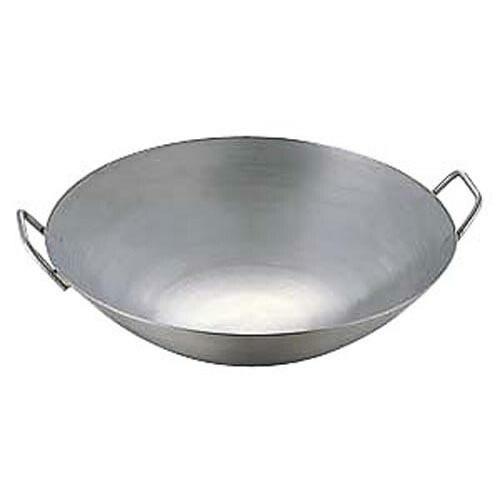 中華鍋 極厚チタン両手中華鍋 42cm 直径420x130 重量:2.5'/業務用/新品/小物送料対象商品
