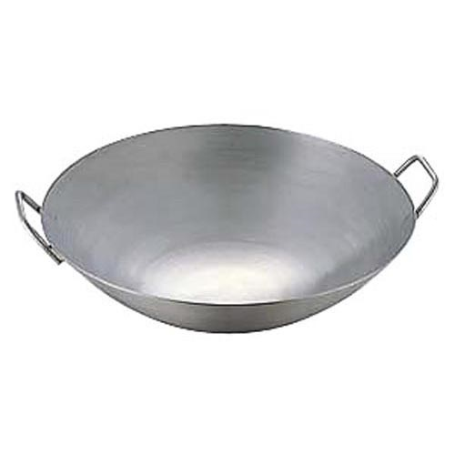 中華鍋 極厚チタン両手中華鍋 48cm 直径480x150 重量:2.5/業務用/新品/テンポス