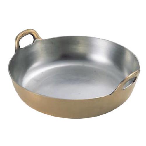 揚鍋 33cm(板厚3.0mm)プレス製 銅製 EBM 【 業務用 】【送料無料】