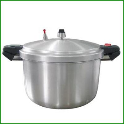 【業務用】圧力鍋 SHPー22 22L 業務用 アルミ 【送料無料】【プロ用】