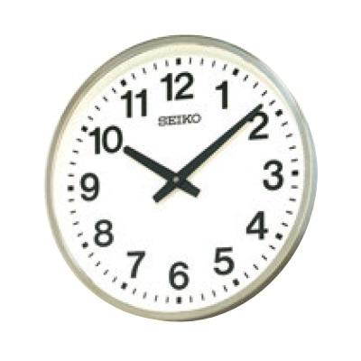 セットアップ 掛時計 セイコー 屋外用クロック KH411S 再再販 SEIKO 送料無料 直径:450 業務用 高さ78