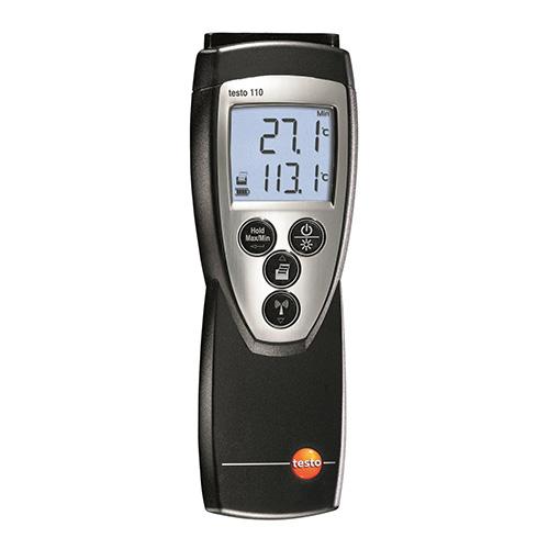 高精度温度計 testo 110[0560 1108]/業務用/送料無料