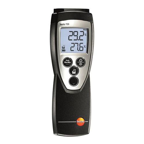 高精度温度計 testo 720[0560 7207]/業務用/送料無料