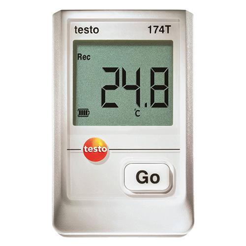 温度ロガー testo 174T USBインターフェイスセット[0572 0561]/業務用/送料無料 /テンポス