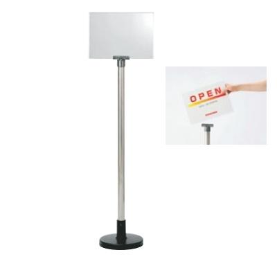看板 サインボードスタンド 867-626 867-626 本体:φ210×H1,100、表示部:220×307 /業務用/新品/小物送料対象商品
