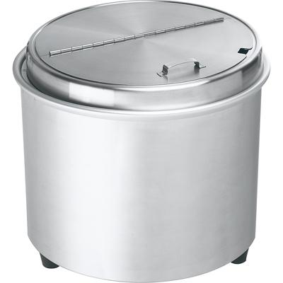 【送料無料】【新品】スープウォーマー 電気式 エバーホット オールステンレス 16リットル [NL-16S]【smtb-td】 /テンポス