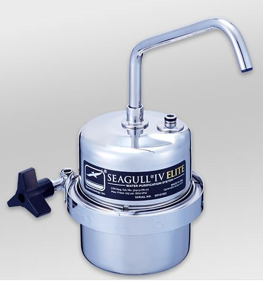 浄水器 シーガルフォー(カウンター据置タイプ)X-1DE 【業務用/新品】 /テンポス