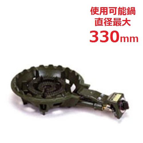 【業務用/新品】 タチバナ製作所 自動点火ガスバーナー 鋳物コンロ 5950Kcal/h TS-201 【送料無料】