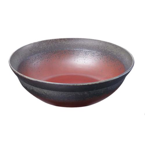 和鉢e-チェーフィング 専用和鉢35cm 備前 PS-15106 高さ100(mm)/業務用/新品 /テンポス