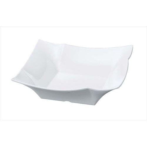 ニューホワイト 四方折紙角鉢 幅408×奥行408×高さ123(mm)/業務用/新品 /テンポス