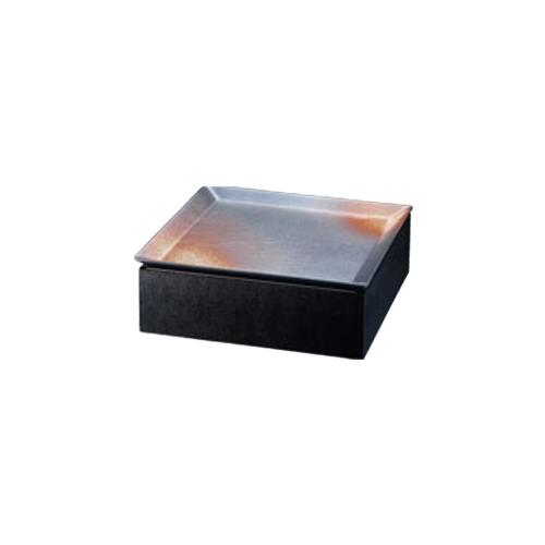 和皿e-チェーフィング(黒布目スタンドS+和皿30cm)錆 PS-15052 幅305×奥行305×高さ100(mm)/業務用/新品/小物送料対象商品