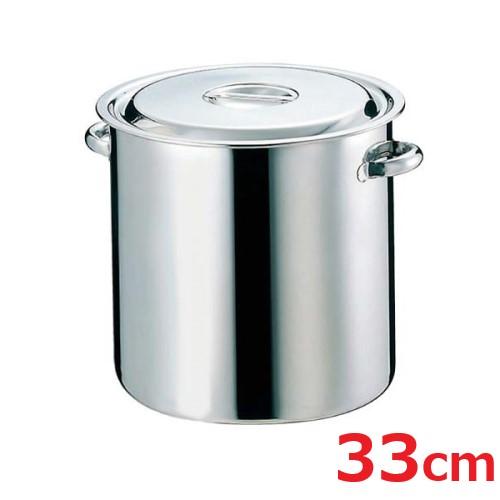 EBM モリブデン 寸胴鍋/キッチンポット 33cm パイプ手付/業務用/新品 /テンポス