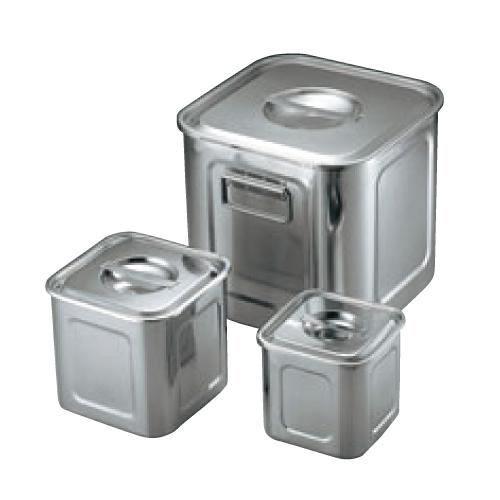 UK 18-8 角型 キッチンポット 30cm 手付/業務用/新品/小物送料対象商品