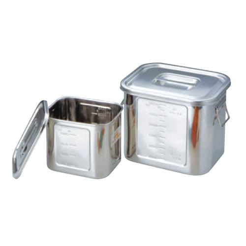 BK 18-8 角型 キッチンポット 目盛付 36型 手付/業務用/新品/小物送料対象商品