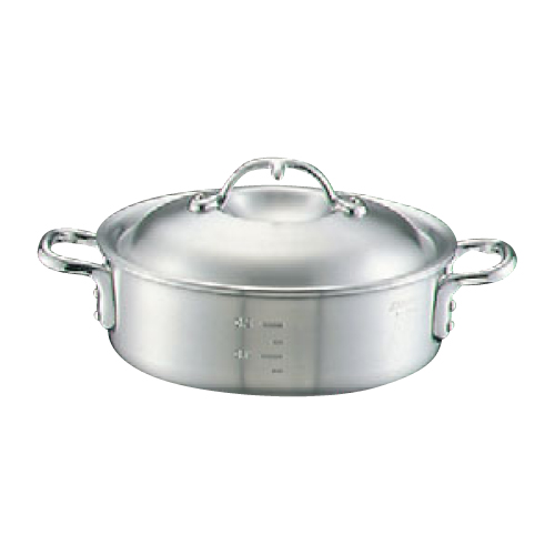 ニューキング アルミ 外輪鍋(目盛付)39cm/業務用/新品/送料無料 /テンポス