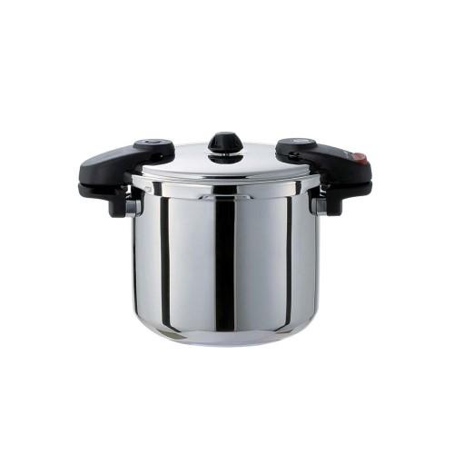 ワンダーシェフ ミドルサイズ圧力鍋 8L(NMDA80)610225 高さ245(mm)/業務用/新品/送料無料 /テンポス