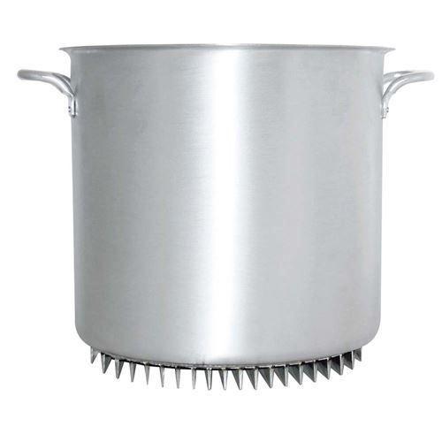 アルミ エコライン 寸胴鍋(蓋無)42cm /業務用/新品/送料無料 /テンポス