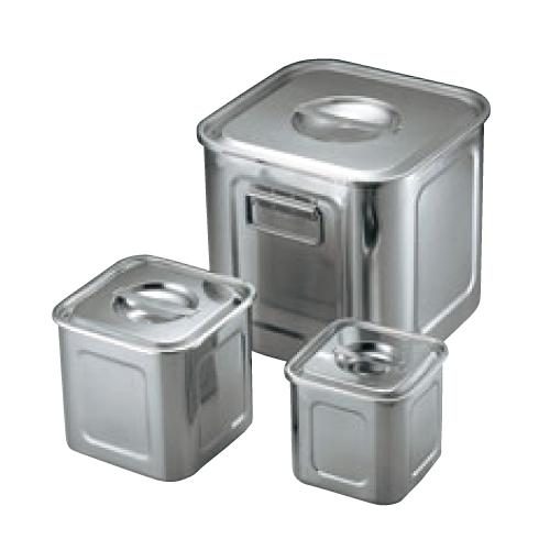 UK 18-8 角型 キッチンポット 39cm 手付/業務用/新品/送料無料 /テンポス