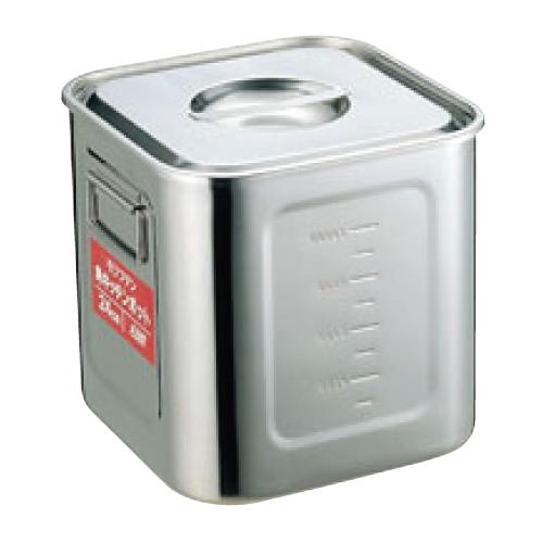 EBM モリブデン 角型キッチンポット 目盛付 36cm/業務用/新品/小物送料対象商品