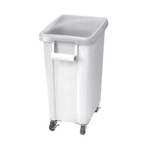 リス 材料保管容器(キャスター付)45L ホワイト(W) 幅305×奥行505×高さ595(mm)/業務用/新品/小物送料対象商品