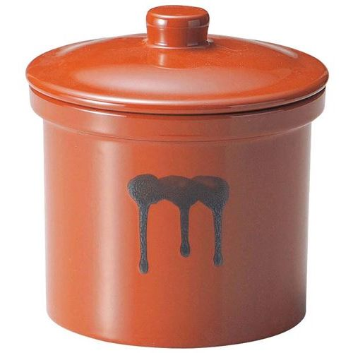 蓋付切立瓶 8号 14.4L 紅星窯 高さ340(mm)/業務用/新品/小物送料対象商品