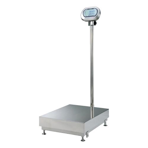 クボタ 防水防塵デジタル台秤 KL-IP-N400BH 400kg 検定無し 幅553×奥行841×高さ1385(mm)/業務用/新品/小物送料対象商品