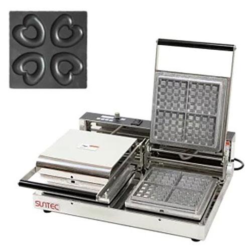 マルチベーカー MAX-2 ベイクドハートドーナツ MAX-2-HCA0401 幅540×奥行455×高さ195(mm)/業務用/新品/小物送料対象商品