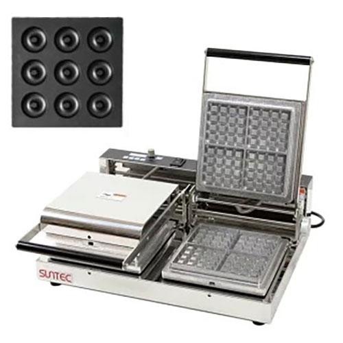 マルチベーカー MAX-2 プチベイクドドーナツ MAX-2-PCA0901 幅540×奥行455×高さ195(mm)/業務用/新品/小物送料対象商品